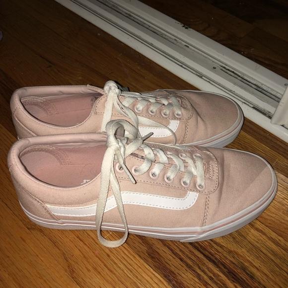 Vans Shoes | Pink Lace Up Vans Womens